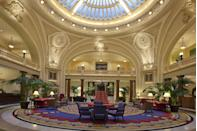 "<p>This historic hotel in Mobile — first built in 1908 on the site of Andrew Jackson's former military headquarters during the War of 1812 — has been restored to its original grandeur, with highlights including a stunning domed skylight with stained glass windows.<br></p><p><strong>EXPLORE NOW:</strong> <a href=""https://www.tripadvisor.com/Hotel_Review-g30709-d612305-Reviews-The_Battle_House_Renaissance_Mobile_Hotel_Spa-Mobile_Alabama.html"" rel=""nofollow noopener"" target=""_blank"" data-ylk=""slk:The Battle House Renaissance"" class=""link rapid-noclick-resp"">The Battle House Renaissance</a></p>"