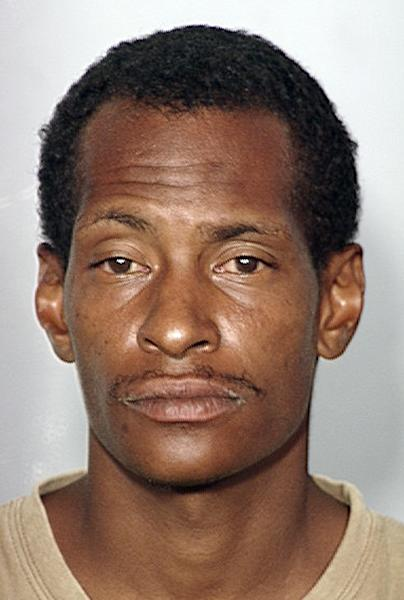 This image provided by the Las Vegas Metropolitan Police Department shows alleged hitman Noel Stevens, who was arrested in Las Vegas on suspicion of killing a woman for money. City firefighter George Tiaffay was arrested Wednesday, Oct. 10, 2012, suspected of paying homeless hitman, Stevens to kill his estranged wife. (AP Photo/Las Vegas Metropolitan Police Department)