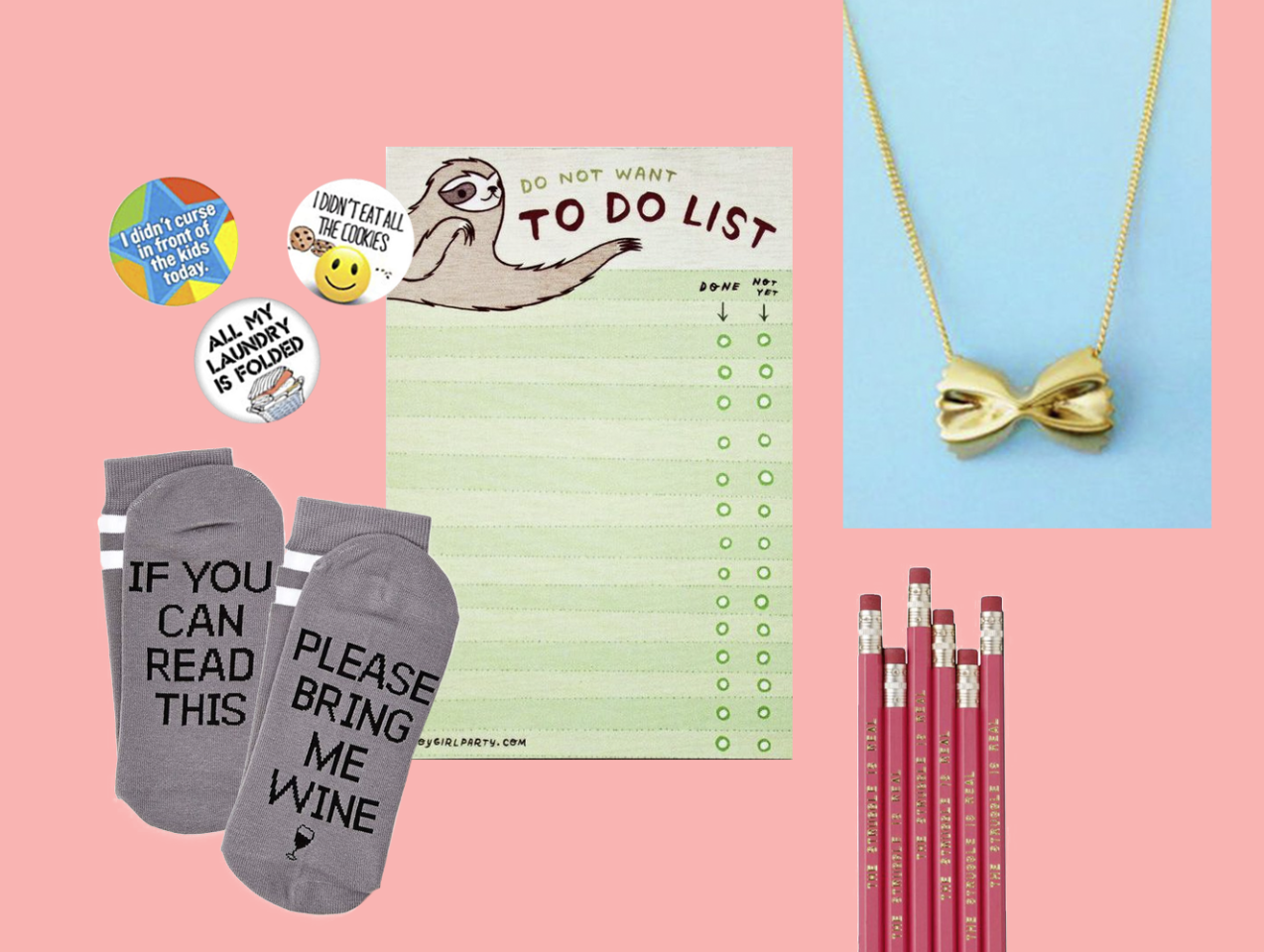 "<p>Sometimes you just have to go for the giggles. These picks (some of which are actually useful!) will have everyone in stitches at the <a href=""https://www.goodhousekeeping.com/holidays/gift-ideas/g4572/creative-white-elephant-gift-ideas/"" target=""_blank"">White Elephant party</a>. For more ideas, check out our favorite <a href=""https://www.goodhousekeeping.com/holidays/christmas-ideas/g4040/best-secret-santa-gifts/"" target=""_blank"">Secret Santa gifts</a>.</p>"
