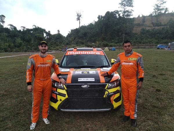 Gaurav Gill (left) with his co-driver Musa Sherif