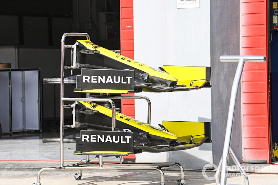 "Alerones del Renault F1 Team R.S.20 <span class=""copyright"">Mark Sutton / Motorsport Images</span>"