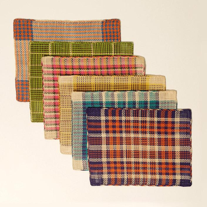 """Brighten up a picnic or outdoor dining table with these placemats, which are handcrafted in the Andes by Colombian artisans. $100, Goodee. <a href=""""https://www.goodeeworld.com/collections/outdoor/products/jipi-plate-mat-1"""" rel=""""nofollow noopener"""" target=""""_blank"""" data-ylk=""""slk:Get it now!"""" class=""""link rapid-noclick-resp"""">Get it now!</a>"""