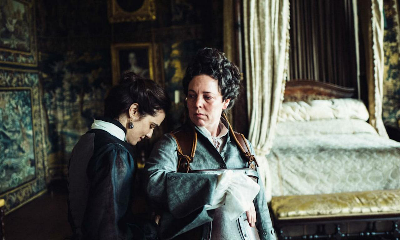 <p>Set during the early 18th century, Olivia Colman leads as Queen Anne, a tempestuous and frail monarch whose intentions is vyed for my close friend Lady Sarah (Rachel Weisz), who practically runs the country, and an ambitious servant called Abigail (Emma Stone) hoping to regain her aristocratic standing. </p>