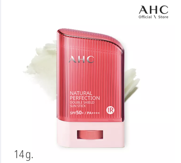 PHOTO: Lazada. AHC Natural Perfection Double Suncare Shield Stick 14g [SPF/Brightening/Wrinkles Care]