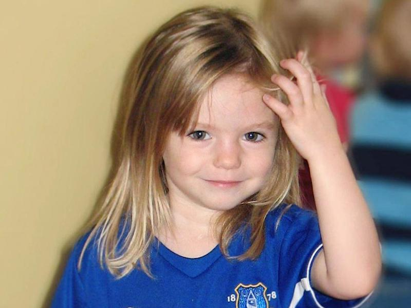 Madeleine McCann (Family handout/PA) The little girl as she looked when she disappeared a decade ago