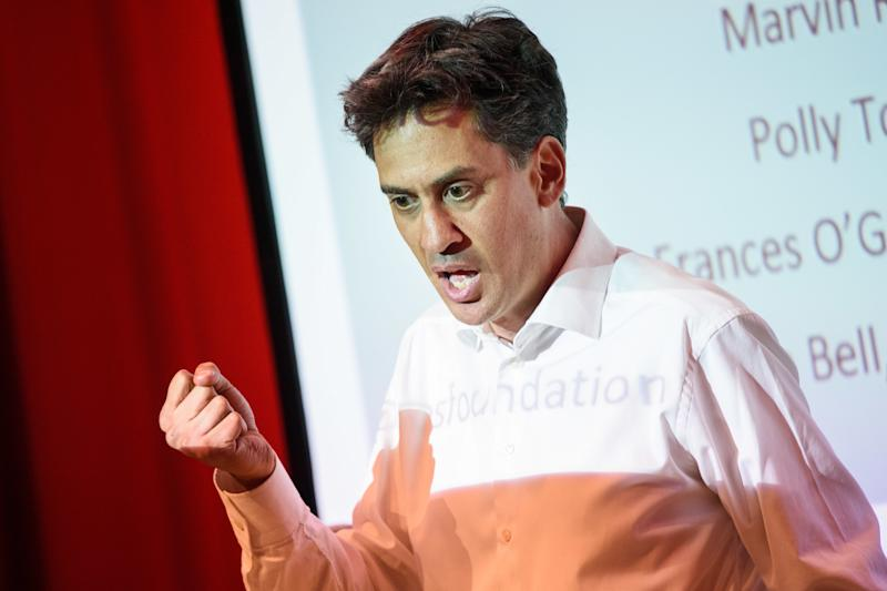 Ed Miliband MP pictured speaking at a fringe event, 'Inequality in 21st Century Britain', organised by the Resolution Foundation, at the Labour Party annual conference in the ACC Centre, Liverpool. Picture date: Sunday September 23rd, 2018. Photo credit should read: Matt Crossick/ EMPICS Entertainment.