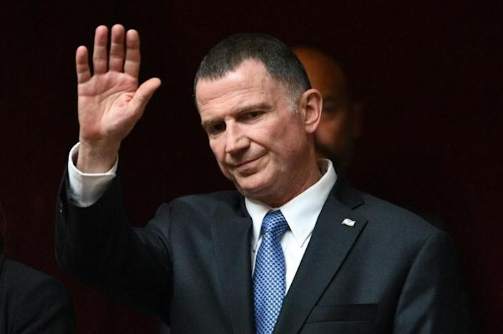 Israeli parliament speaker Yuli Edelstein, an ally of Benjamin Netanyahu, could by replaced by an opponent of the embattled premier (AFP Photo/Eric Feferberg)