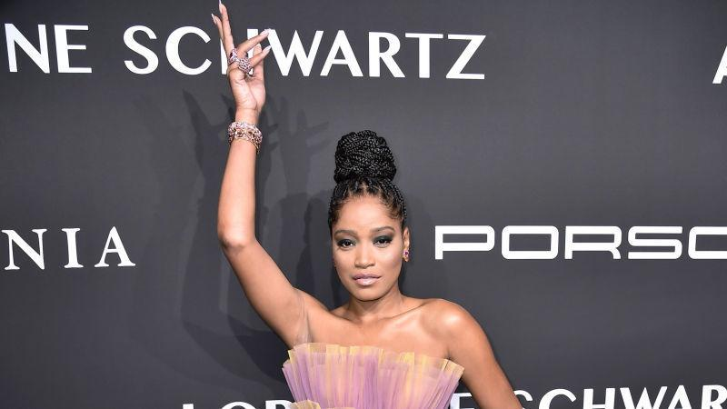 Keke Palmer attends Gabrielle's Angel Foundation for Cancer Research Angel Ball 2019 on October 28, 2019 in New York City.