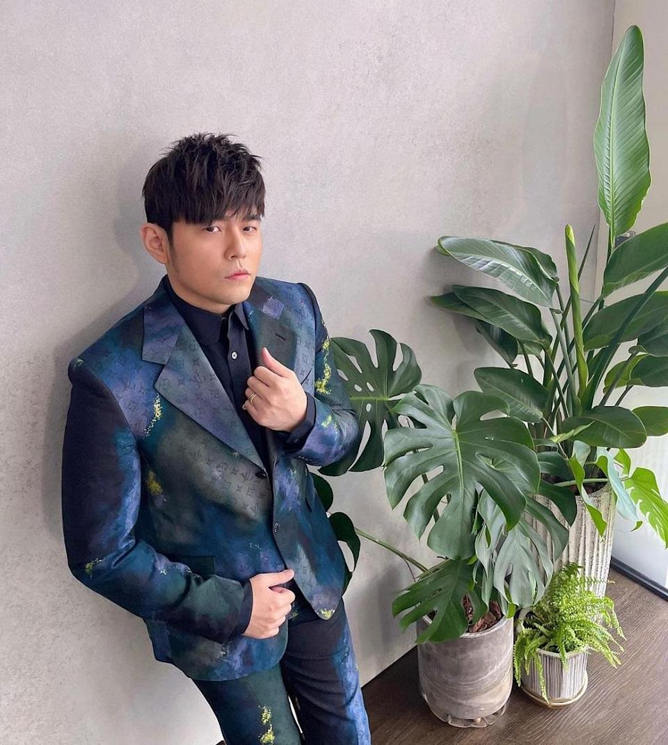 Jay Chou successfully raised RM1.77 million from the auction of his four performance costumes. — Picture via Instagram/ Jay Chou