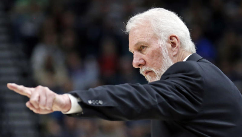 Spurs' Gregg Popovich: 'Pretty simple' why I prioritize charity work