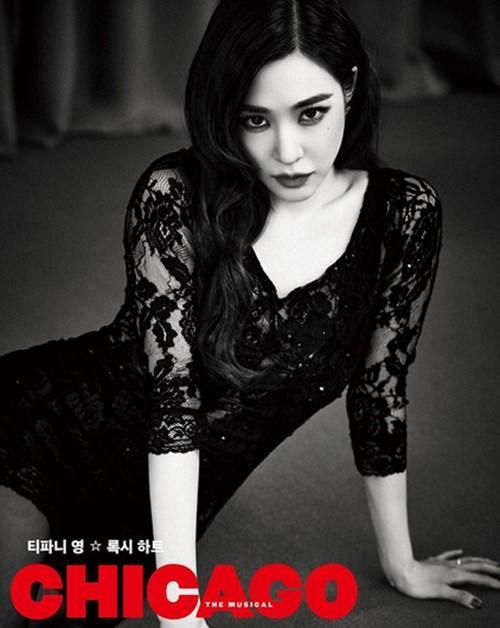 Tiffany previously played Roxie Hart in the theatrical production of 'Chicago'