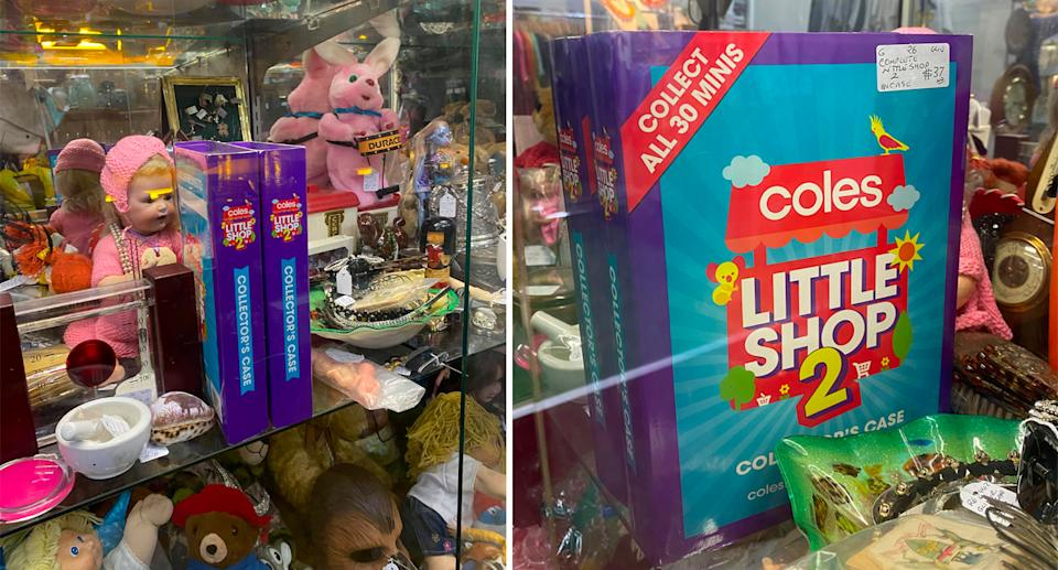 Coles Little Shop were all the rage two years ago but have quickly been forgotten about. Source: Brianne Tolj