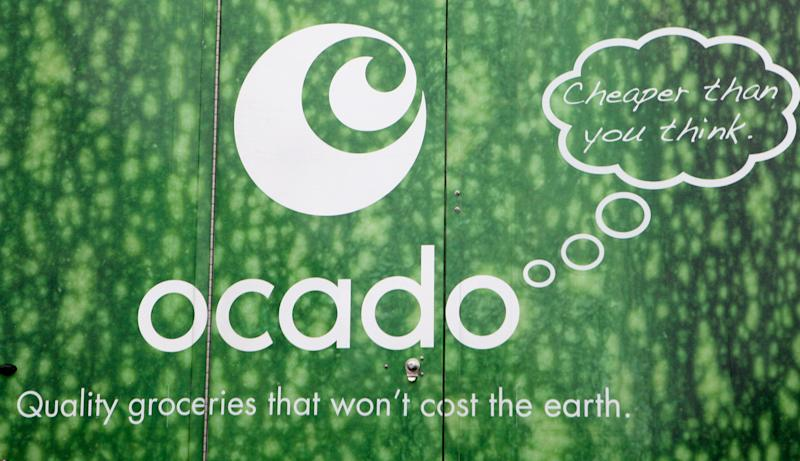A generic stock photo of an Ocado home delivery van in south west London.