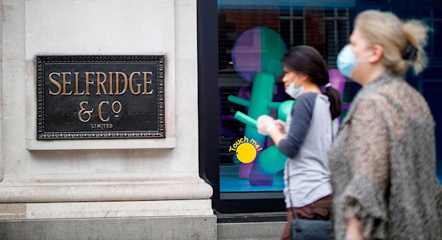 Selfridges was among a number of stores that reopened on 15 June after closing due to the coronavirus pandemic. (Getty Images)