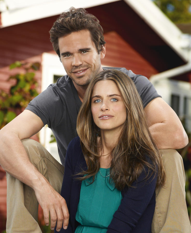 "<b>""Bent""</b> (NBC)<br>Wrapped April 4; aired Wednesdays at 9 PM<br><br><b>The Good News:</b> The midseason romantic comedy charmed the pants off critics after the network sent out the entire six-episode season in advance. Note to Amanda Peet and David Walton: You can live off this goodwill for a good long while. This is your ""<a href=""http://tv.yahoo.com/terriers/show/45322"">Terriers</a>""!<br><br><b>The Bad News:</b> NBC executives weren't exactly in love. They burnt off back-to-back episodes in just three weeks and then -- as if to make sure it would really be DOA -- put it up against ratings king ""<a href=""http://tv.yahoo.com/american-idol/show/34934"">American Idol</a>,"" comedy champ ""<a href=""http://tv.yahoo.com/modern-family/show/44741"">Modern Family</a>,"" and buzzy-and-burgeoning ""<a href=""http://tv.yahoo.com/happy-endings/show/46535"">Happy Endings</a>,"" stomping all over its rom-com heart."