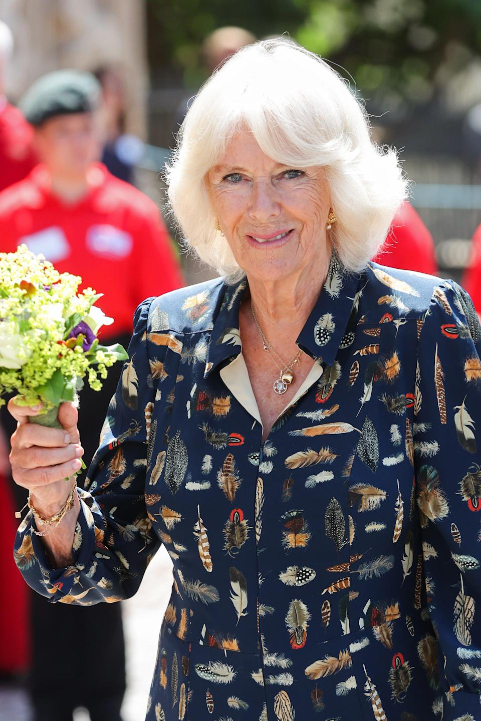 The Duchess of Cornwall said she hoped the worst of the pandemic is over (Chris Jackson/PA) (PA Wire)