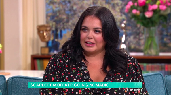 Scarlett Moffatt admitted the experience has changed the way she sees the world (Credit: ITV)
