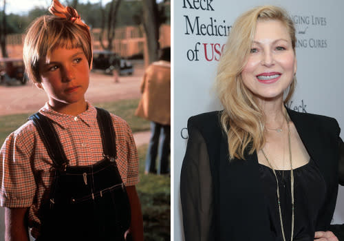 <p>For her role as the sharp-as-a-tack tomboy Addie Loggins in Peter Bogdanovich's brilliant grifter flick <em>Paper Moon</em>, Tatum O'Neal became the youngest winner in any competitive Oscar category ever (we're not counting the honorary 'Juvenile Oscars' that the Academy used to dish out years ago). She carried on her childhood success in movies like <em>The Bad News Bears</em> and <em>International Velvet</em>. But as she grew older her CV began to be quickly overshadowed by her tempestuous personal life. There was a relationship with Michael Jackson, her rocky marriage to tennis star John McEnroe (seriously), a very public fall-out with her dad – and <em>Paper Moon</em> co-star – Ryan O'Neal and even a battle with drug addiction (police busted her with a crack pipe). She's still working and will soon be seen in the horror movie Rock Paper Dead. </p>