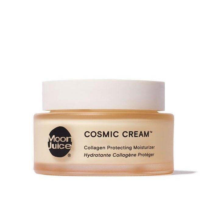"""<p>Moon Juice has taken some of the adaptogenic ingredients in its popular supplements — like stress-fighting ashwagandha and collagen-supporting schisandra — and given them a new opportunity to shine in this topical Cosmic Cream. With a hearty dose of hyaluronic acid, it helps hydrate and smooth skin while bolstering its elasticity.</p> <p><strong>$58</strong> (<a href=""""https://shop-links.co/1701976543407424114"""" rel=""""nofollow noopener"""" target=""""_blank"""" data-ylk=""""slk:Shop Now"""" class=""""link rapid-noclick-resp"""">Shop Now</a>)</p>"""