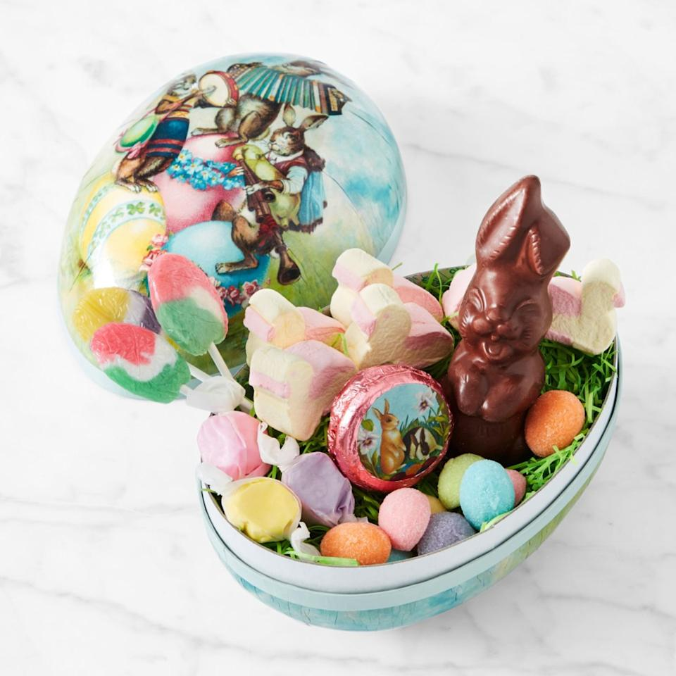 Classic Easter Small Mache Egg. Image via Williams Sonoma.