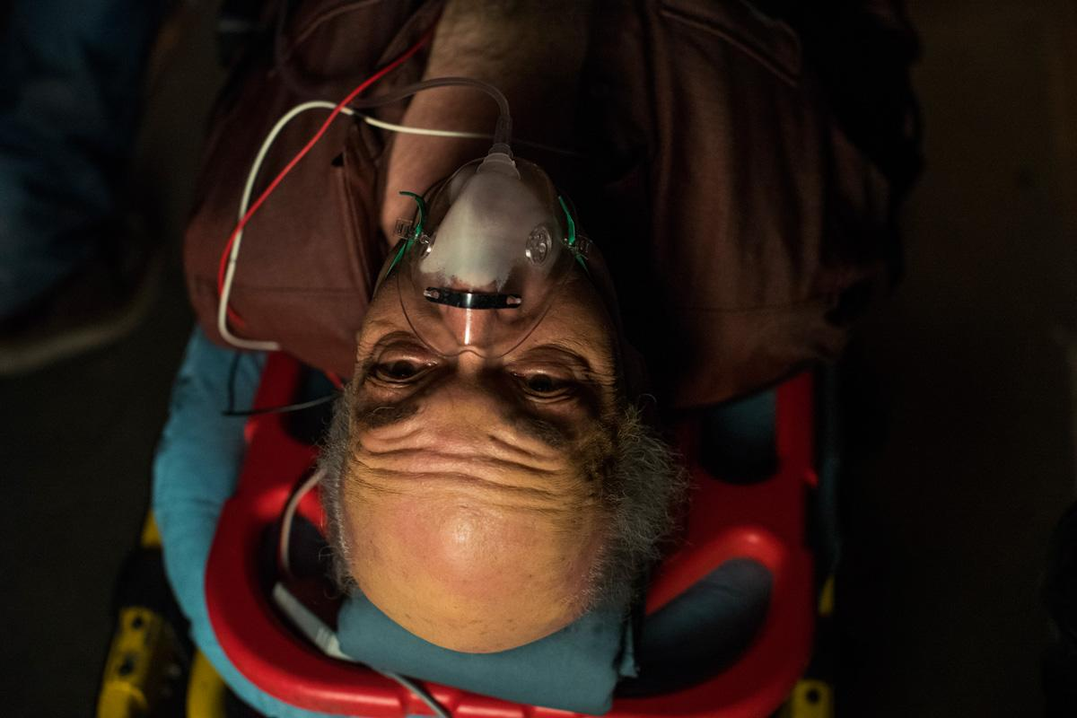 <p>Mark Margolis as Hector Salamancain AMC's Better Call Saul. (Credit: Michele K. Short/AMC/Sony Pictures Television) </p>