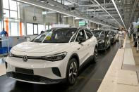 FILE PHOTO: VW shows electric SUV ID.4 during a photo workshop