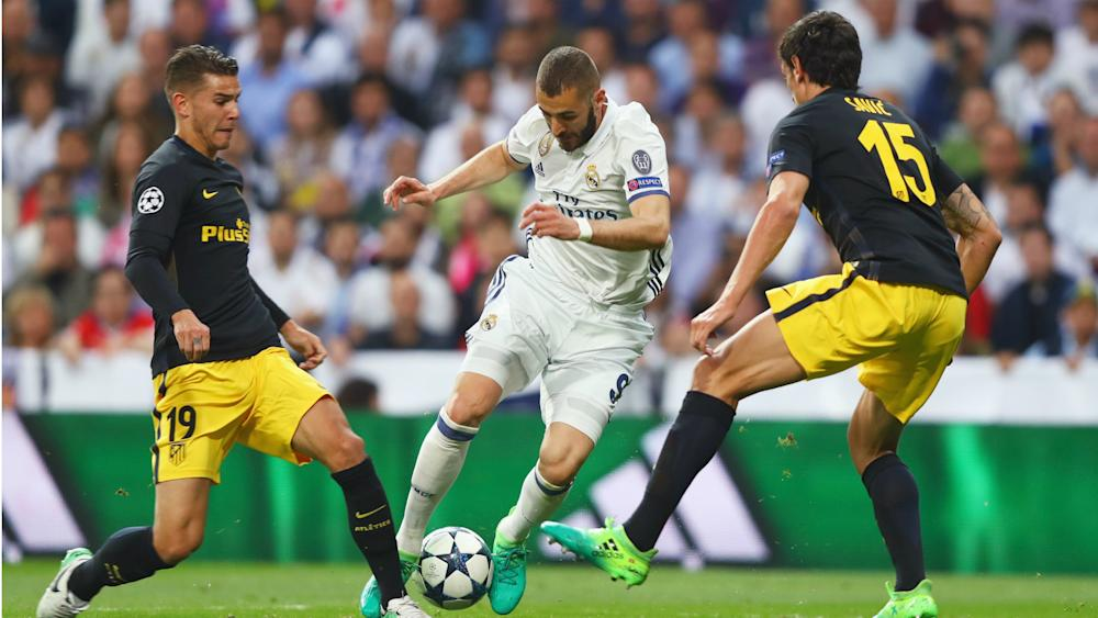 Karim Benzema Real Madrid Atletico Madrid Champions League