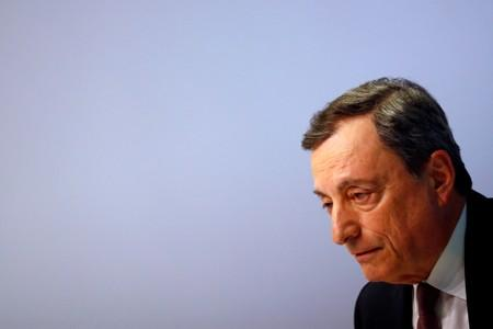 ECB minutes show deep rift over policy as Draghi era closes
