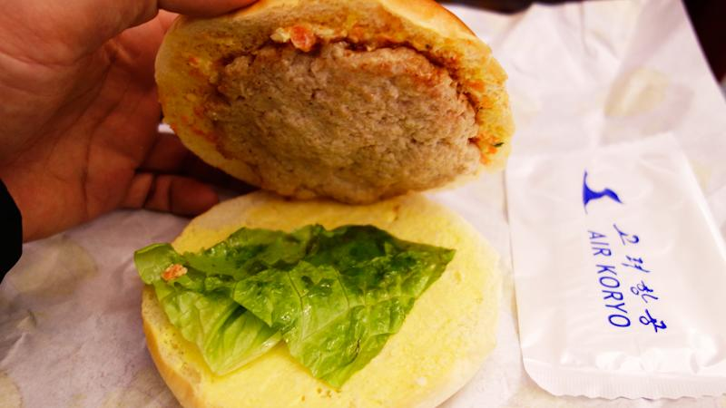 This Dubious-Looking Burger Is the Only Food Offered On North Korea's State Airline