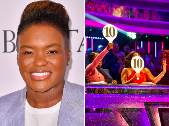 Nicola Adams to be part of first same-sex couple on 'Strictly' (Rex/BBC)