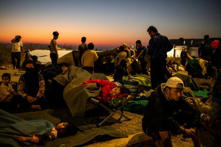 Greece wants joint EU management of new Lesbos camp