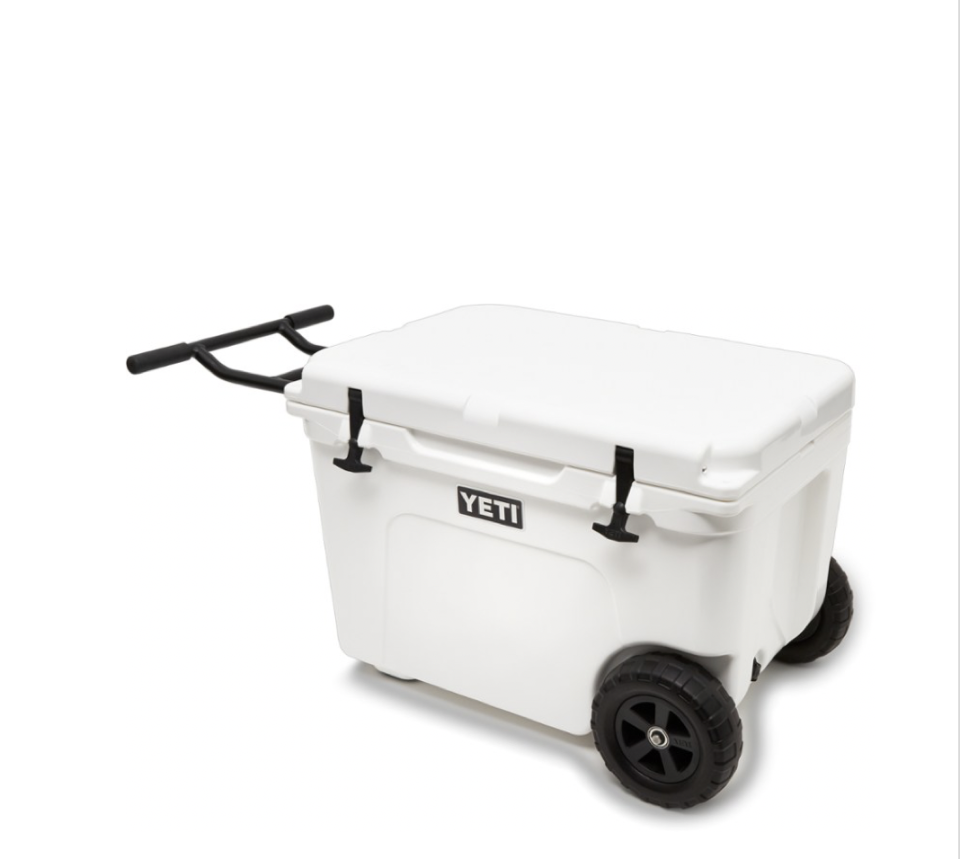 "<p><strong>Yeti </strong></p><p>rei.com</p><p><strong>$400.00</strong></p><p><a href=""https://go.redirectingat.com?id=74968X1596630&url=https%3A%2F%2Fwww.rei.com%2Fproduct%2F145316&sref=https%3A%2F%2Fwww.harpersbazaar.com%2Ffashion%2Ftrends%2Fg4473%2Fmens-holiday-gift-guide%2F"" rel=""nofollow noopener"" target=""_blank"" data-ylk=""slk:SHOP NOW"" class=""link rapid-noclick-resp"">SHOP NOW</a></p><p>Take his tailgate game to the next level with this functional and sleek cooler on wheels.</p>"