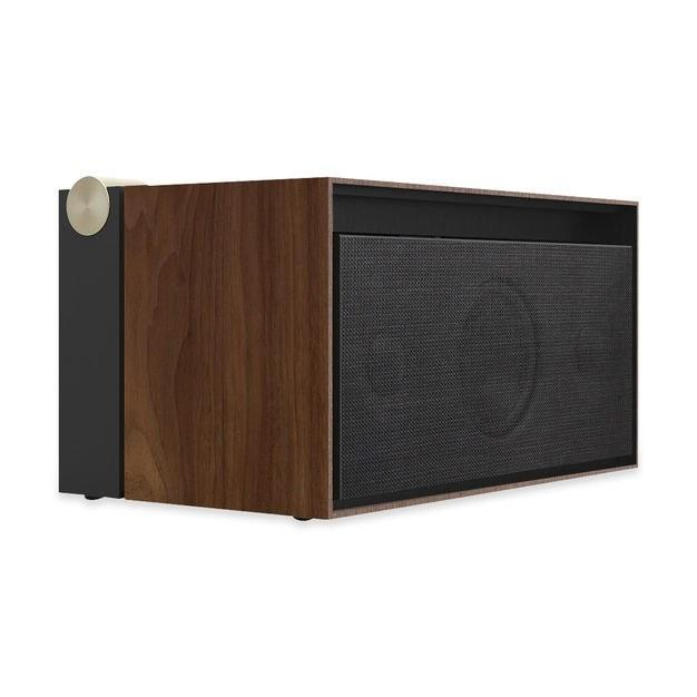 "<p>If dad is a big music buff, he's likely already got this speaker on his wish list. It delivers high-power, quality sound in a beautifully designed package. A hidden drawer for charging ports and cables maintains the minimalist look and the top charges compatible devices wirelessly. And that circle in the corner controls the volume in the most stylish way imaginable.</p> <p><strong><a href=""https://store.moma.org/tech/headphones-speakers/pr01-native-union-x-la-boite-concept-speaker/4115-138975.html?cgid=tech-headphones-speakers?utm_source=nativeunion"" rel=""nofollow noopener"" target=""_blank"" data-ylk=""slk:store.moma.org"" class=""link rapid-noclick-resp"">store.moma.org</a></strong>/$799</p>"