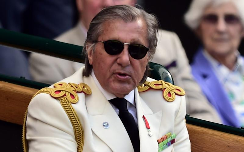 Ilie Nastase said he had no regrets over his verbal abuse of players and officials - PA Wire/PA Images