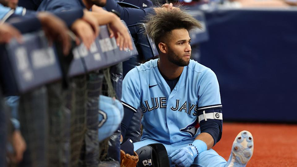 The Blue Jays have fallen out of a playoff spot. For now. (Photo by Mike Carlson/MLB Photos via Getty Images)
