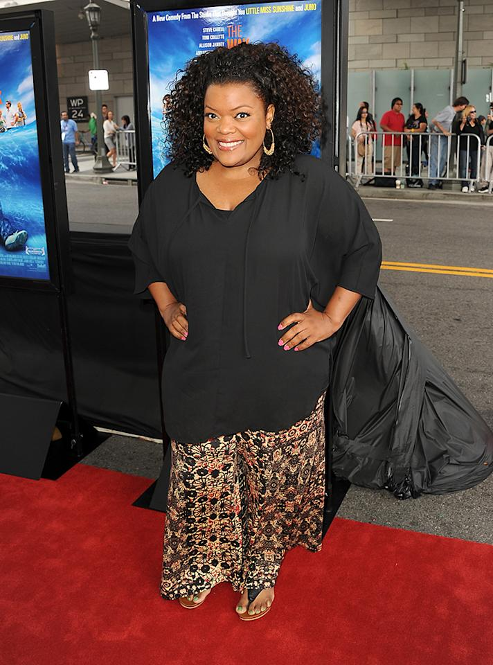 "LOS ANGELES, CA - JUNE 23:  Actress Yvette Nicole Brown attends the premiere of Fox Searchlight Pictures' ""The Way, Way Back"" at Regal Cinemas L.A. Live on June 23, 2013 in Los Angeles, California.  (Photo by Kevin Winter/Getty Images)"