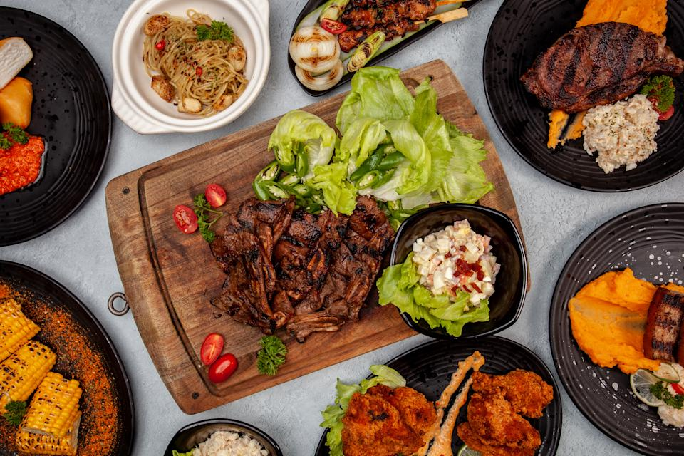 Meat assortments. (PHOTO: Garang Grill)