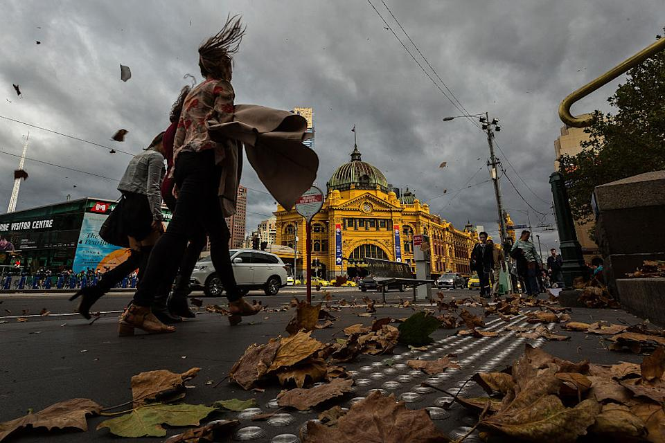 Strong winds are expected to hit metropolitan Melbourne on Thursday. Source: Getty