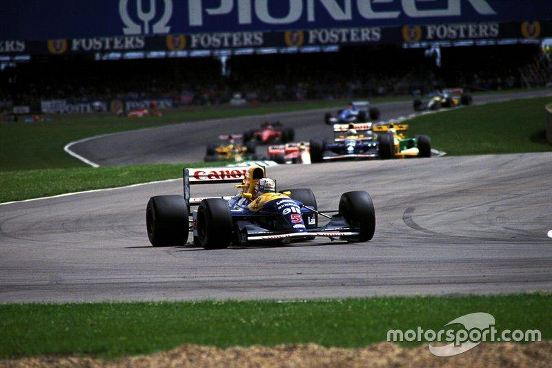 "1992 Nigel Mansell, Williams <span class=""copyright"">Sutton Images</span>"