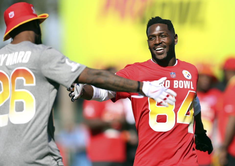 A new Sports Illustrated story details the many ways in which Antonio Brown mistreats those who enter his orbit. (AP)