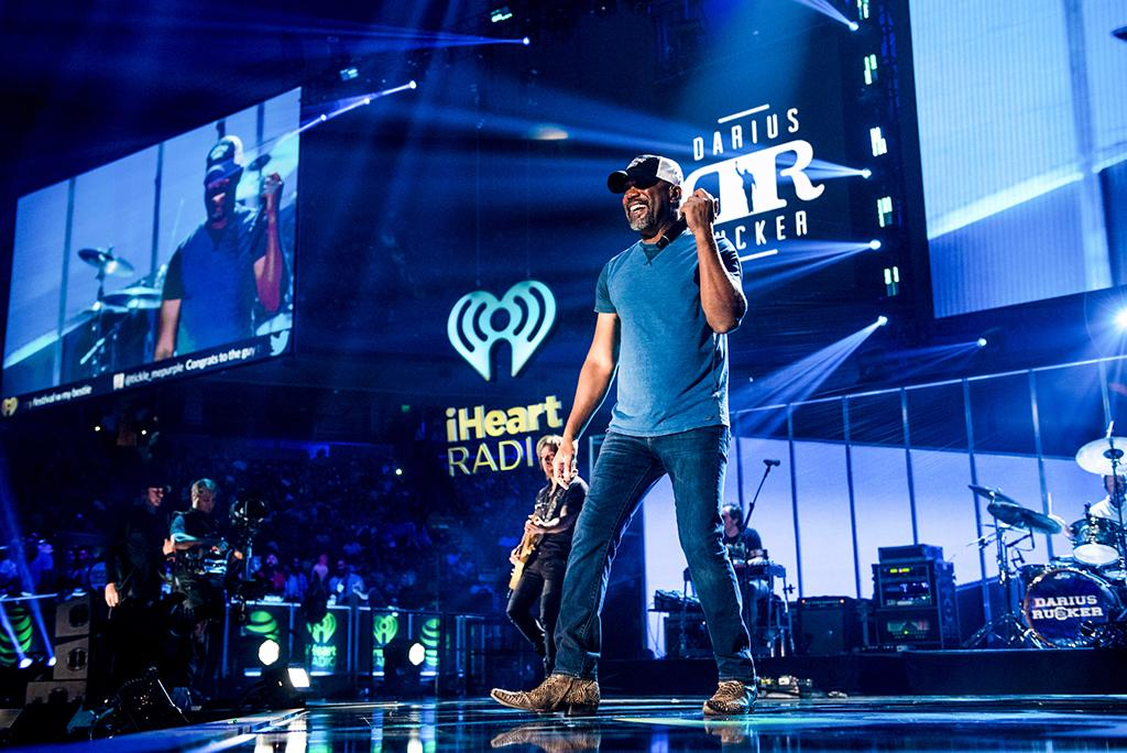 <p>Darius Rucker performs at the 2017 iHeartCountry Festival, A Music Experience by AT&T at The Frank Erwin Center on May 6, 2017 in Austin, Texas. (Photo: Chris Owyoung) </p>