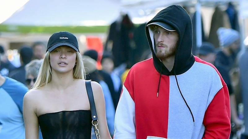 Josie Canseco Holds Hands With Logan Paul Months After Split From Brody Jenner
