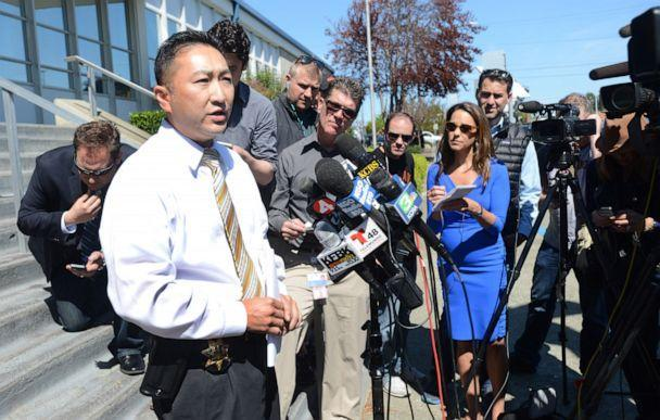 PHOTO: In this March 25, 2015, file photo, Lt. Kenny Parks speaks at a press conference in Vallejo, Calif., confirming reports that Denise Huskins has been found safe in Huntington Beach, Calif. (Vallejo Times Herald/MediaNews Group via Getty Images, FILE)