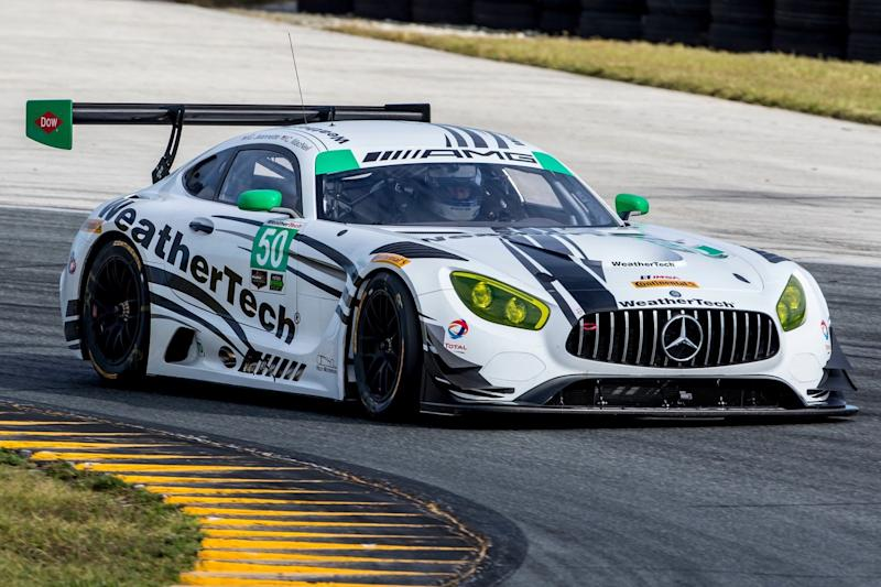 Look out Porsche: Mercedes' AMG GT3 will race in North America next year