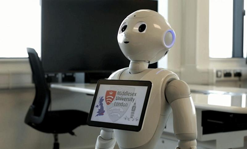 Pepper will give a demonstration to MPs during the committee meeting(PA)