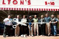 <p>The museum underwent several renovations and celebrated it's grand re-opening with a ribbon cutting ceremony in 2011. </p><p>Photo: Courtesy of Walmart</p>
