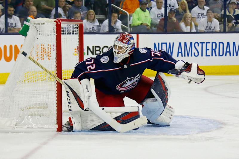 Florida Panthers goaltender Sergei Bobrovsky ripped into the Columbus Blue Jackets for their poor treatment of him during the 2018-19 season. (Photo by Kirk Irwin/Getty Images)