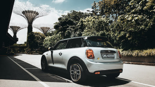 MINI Electric: BMW-owned MINI Launches its First Fully Electric Car in Singapore