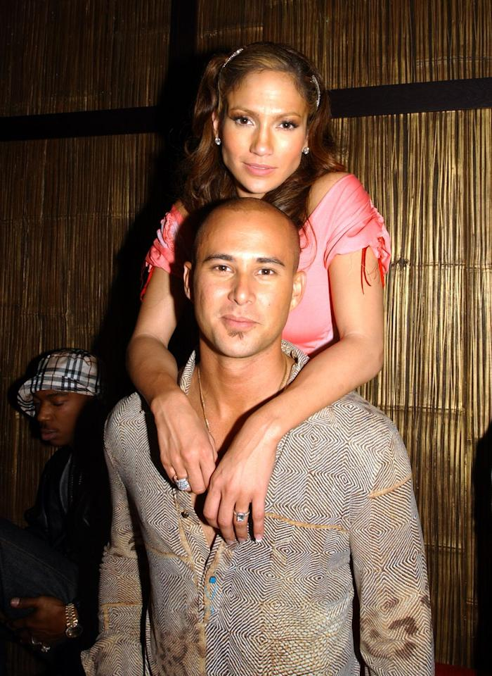 "<p>J.Lo married her backup dancer Cris Judd (who she met on the set of her ""Love Don't Cost a Thing"" music video) in 2001 after she received an emerald cut ring worth six-figures. Their marriage lasted just over a year. </p>"