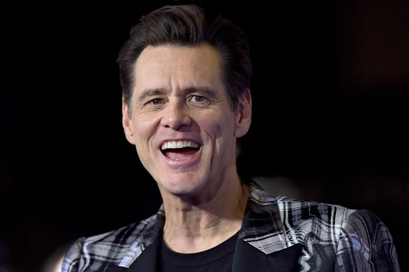 "WESTWOOD, CALIFORNIA - FEBRUARY 12: Jim Carrey attends the LA Special Screening of Paramount's ""Sonic the Hedgehog"" at Regency Village Theatre on February 12, 2020 in Westwood, California. (Photo by Axelle/Bauer-Griffin/FilmMagic)"